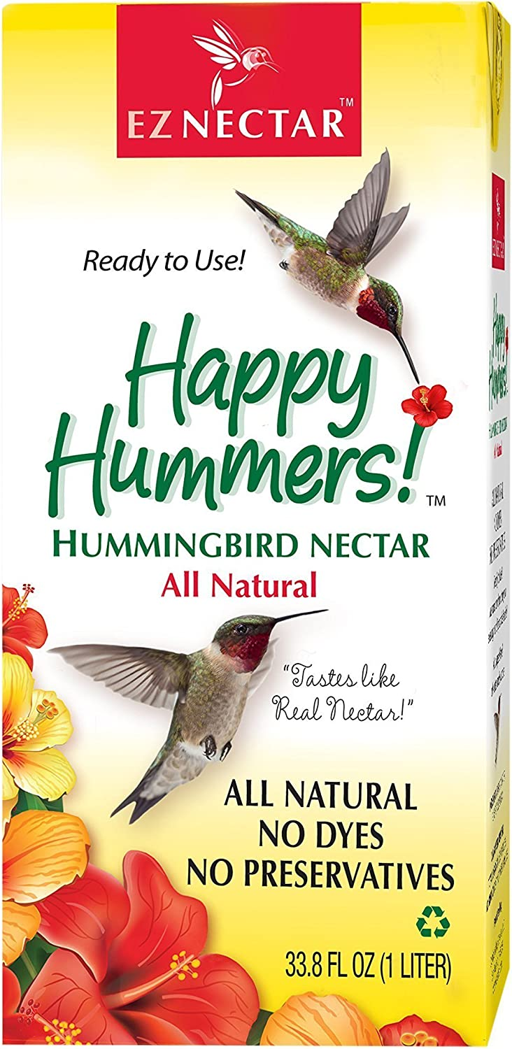 EZNectar - The Only Ready-to-Use Hummingbird Nectar