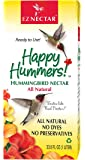 "EZNectar - The Only Ready-to-Use Hummingbird Nectar ""Exactly Like Flower Nectar.""  Patented , Preservative & Dye Free, Hummingbird Food - Nectar (1 Piece) 33.8 FL OZ TOTAL"
