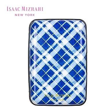 Isaac Mizrahi New York Hard Case Wallet Card Holder w RFID