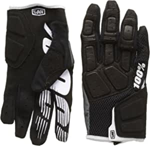 Black//Medium 100/% Simi Mens Leather//Textile Off-Road Motorcycle Gloves
