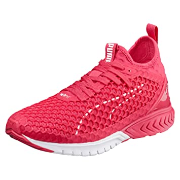 size 40 a1368 6a570 Puma Chaussures Femme Running Ignite Dual Netfit, rose  blanc, 36