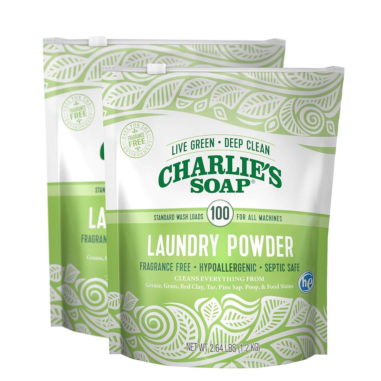 Charlie's Soap Laundry Powder - 2.64 lb - 2 pk by Charlie's Soap B00GHNPMJI  2