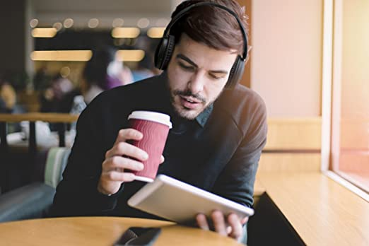 Amazon.com: JVC HAS70BTBE BLACK Premium Sound Bluetooth Around Ear Headphones: Home Audio & Theater