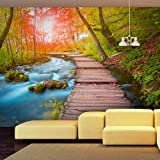 Fotomural 350x245 cm - 3 tres colores a elegir - Papel tejido-no tejido. Fotomurales - Papel pintado ventana paisajes c-A-0068-a-d