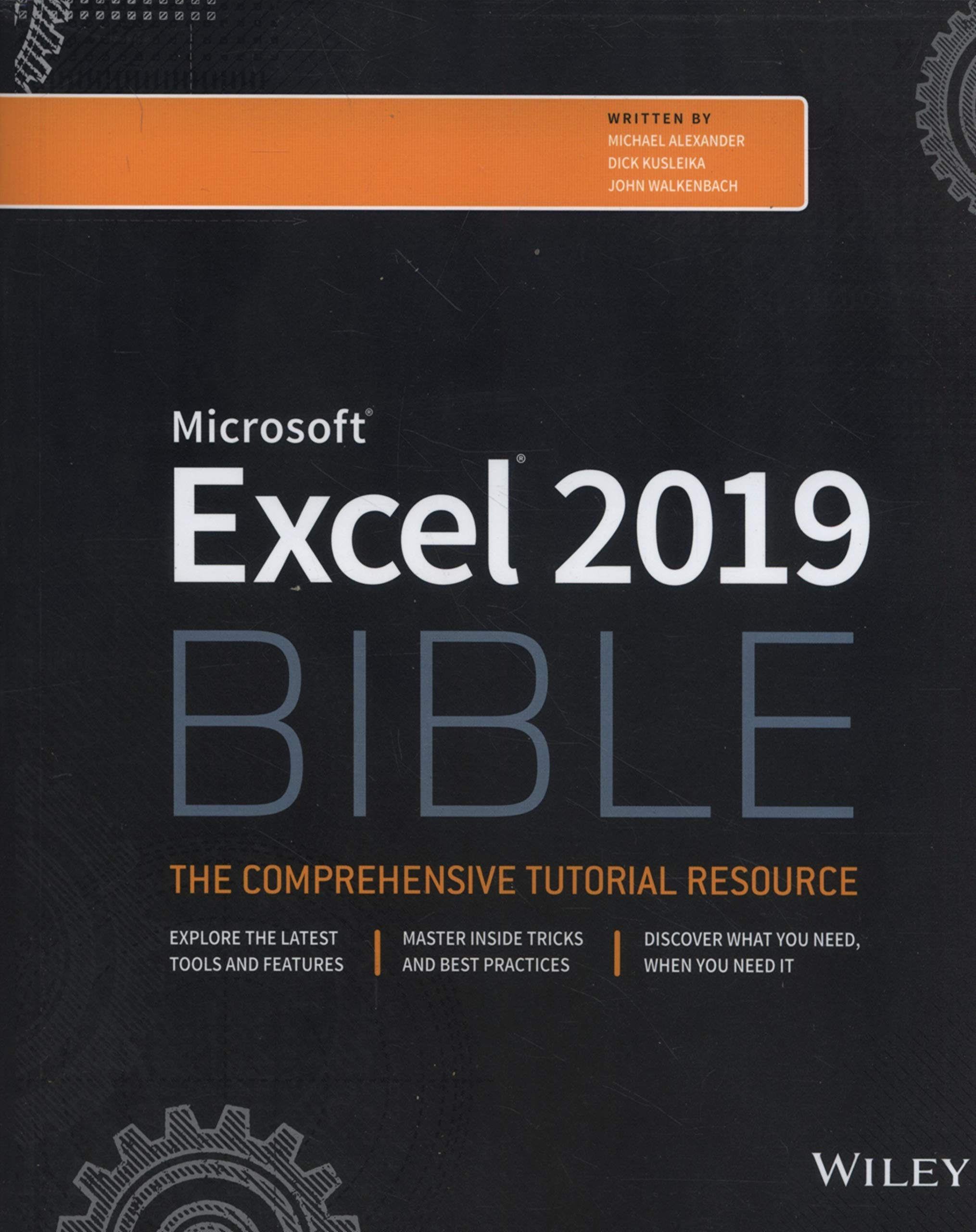 Excel 2019 Bible by Wiley