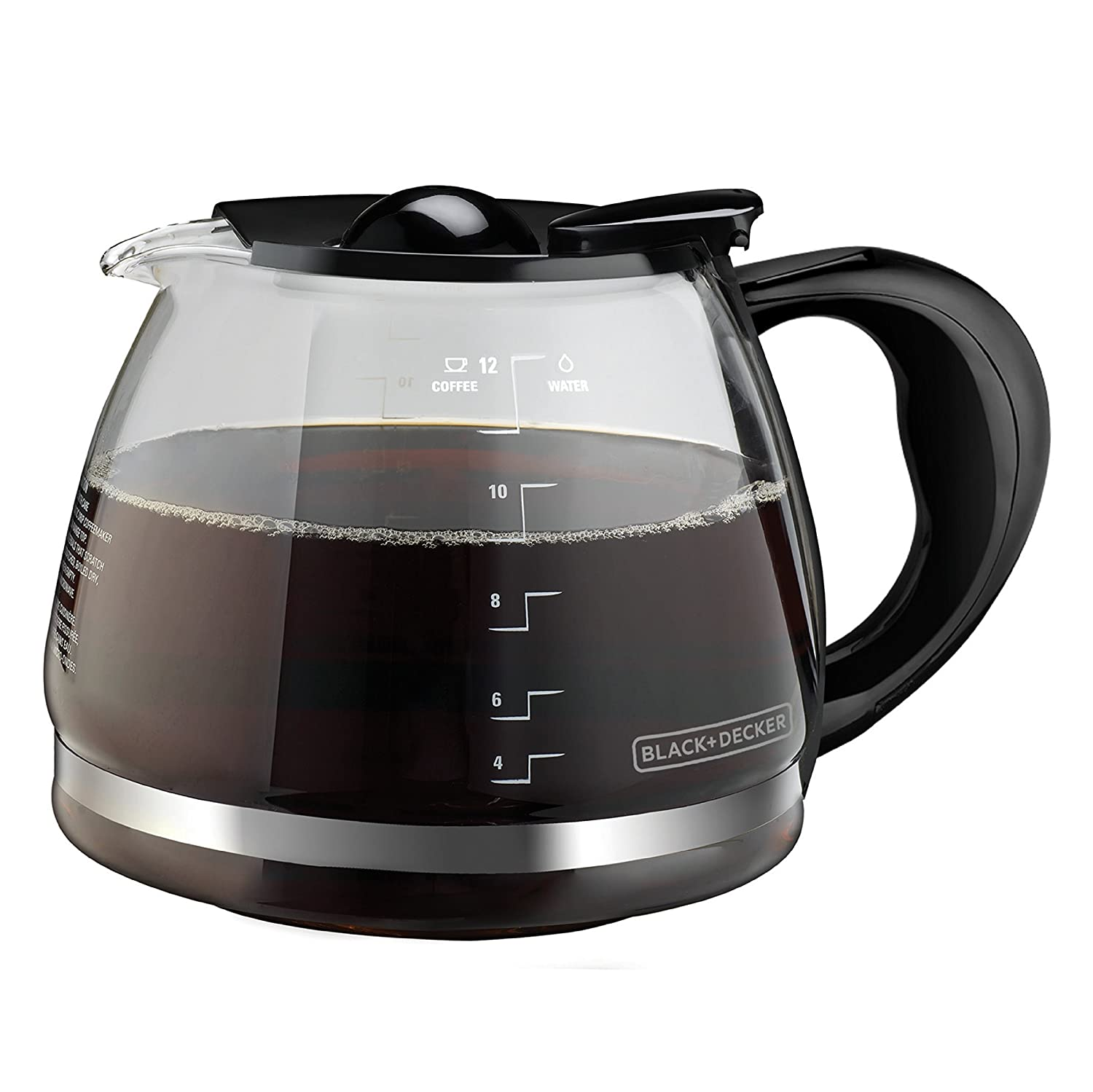 Stainless Steel BLACK+DECKER 12-Cup Replacement Thermal Carafe with Duralife Construction TC1200B
