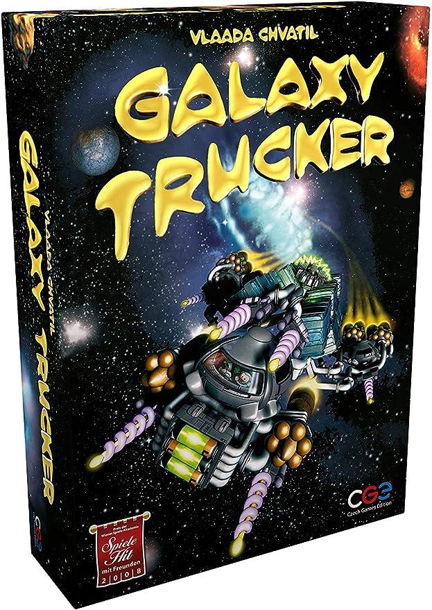 Czech Games Edition- Galaxy Trucker Juego de Mesa - Versión Inglesa: Amazon.es: Juguetes y juegos