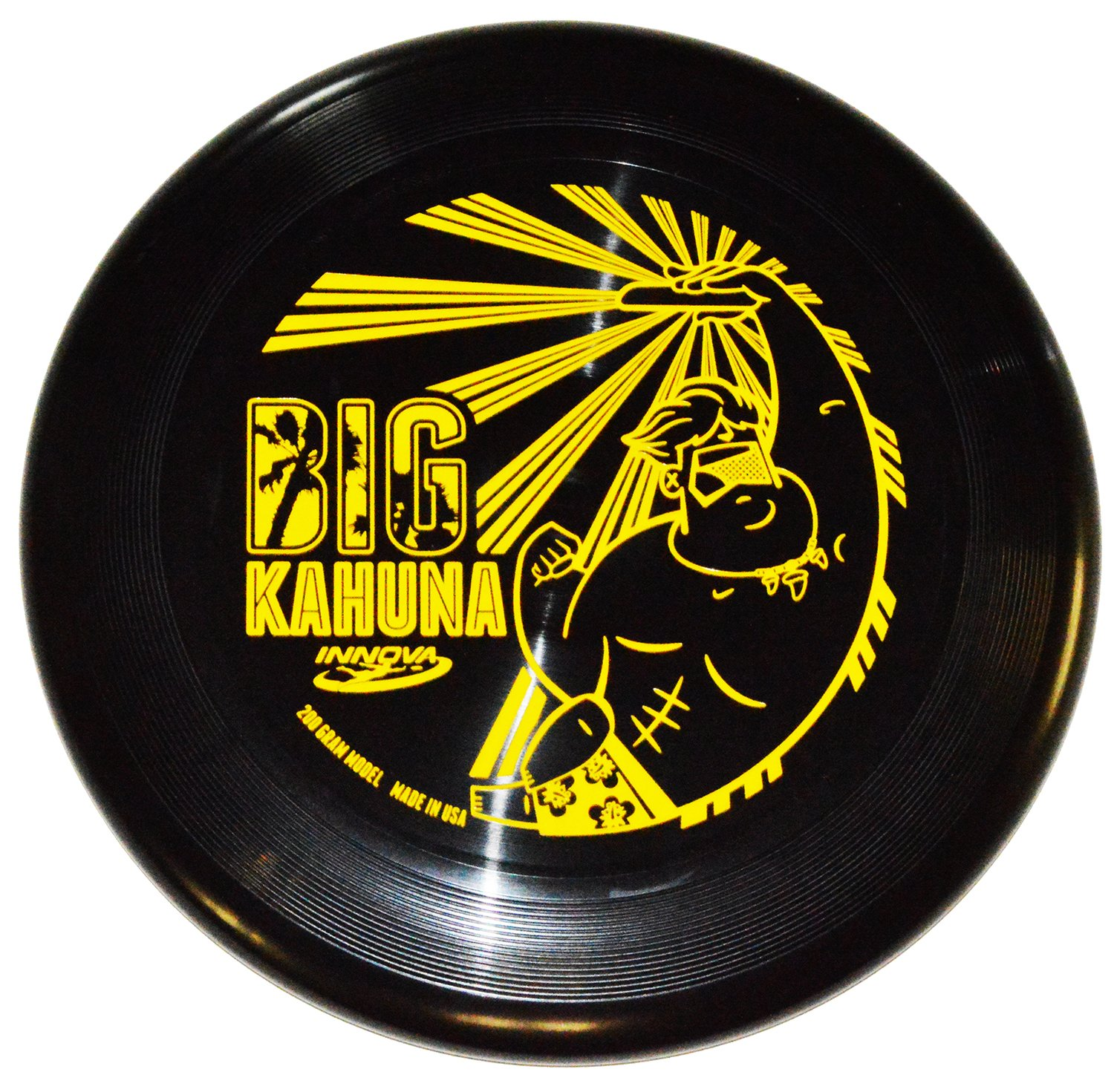 Innova Big Kahuna 200g Ultimate Catch Disc (Dude - Black) by Innova