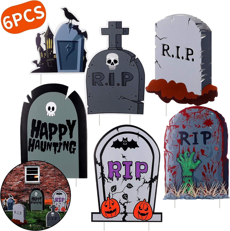Graveyard Tombstone Yard Stakes