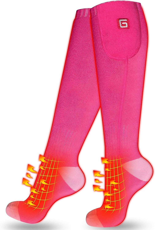 Électrique Chauffée Chaussettes pour chroniquement pieds froids Tension Basse Chaussettes Hommes et Femmes