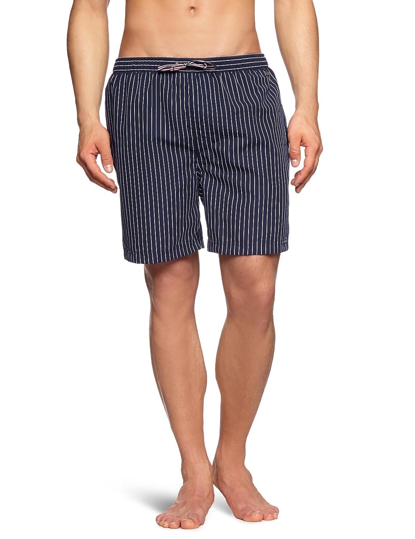 Schiesser Men Nautical Vintage Board Shorts