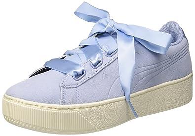 Puma Damen Vikky Platform Sneaker, Blau (Cerulean White 17), 39 EU