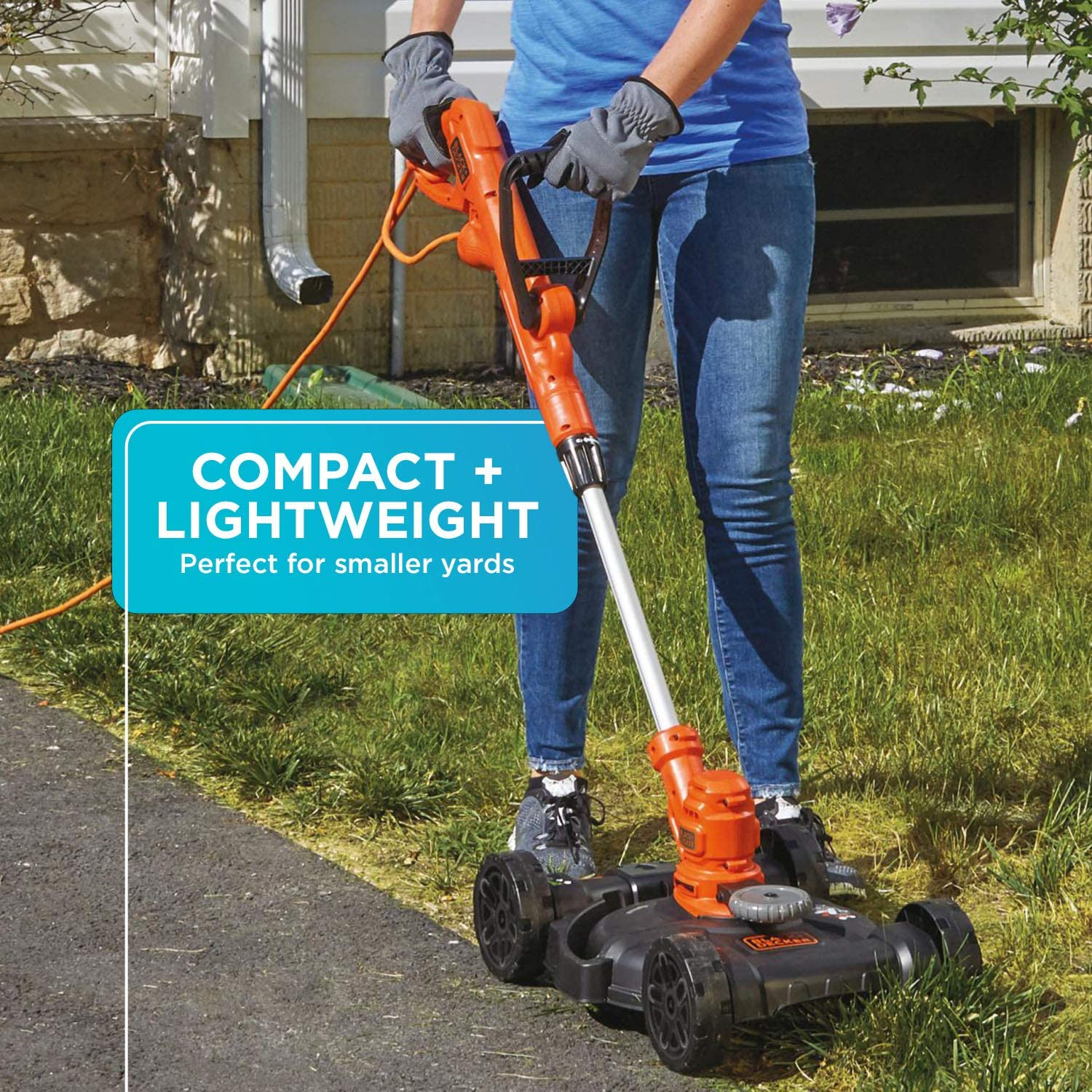 BLACK+DECKER 3-in-1 Cordless Lawn Mower