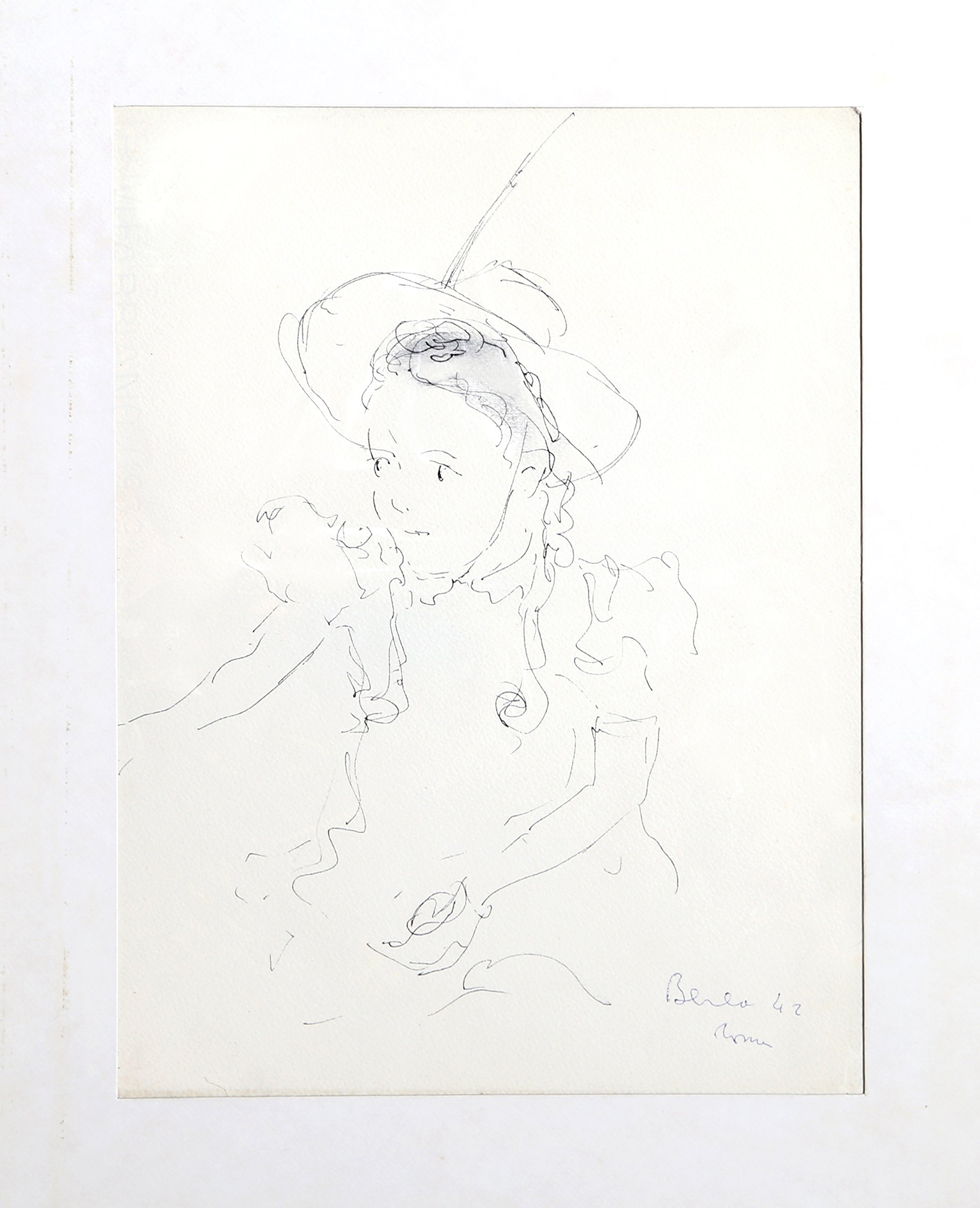 Portrait of a Girl with Hat - 16