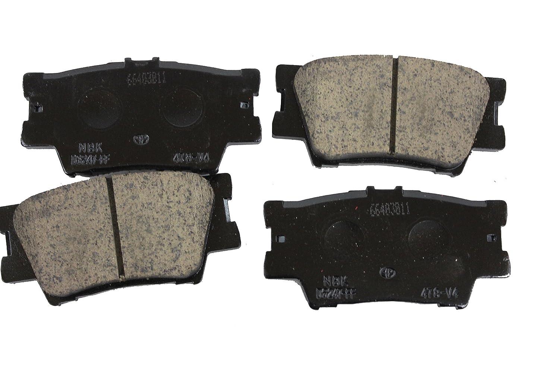 Toyota Genuine Parts 446606090 Rear Brake Pad Set