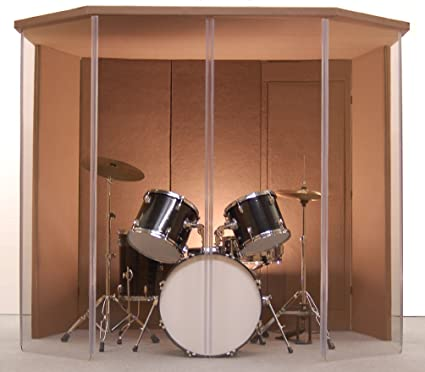 Drum Booth Drum Enclosure Drum Shield Silencer Studio