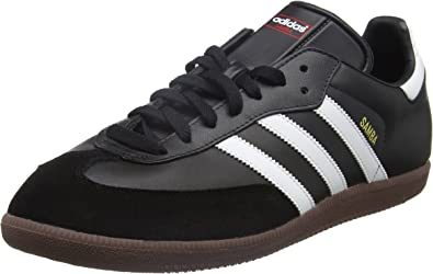 adidas Originals Samba, Baskets mode homme, Blanc/Noir/Gomme