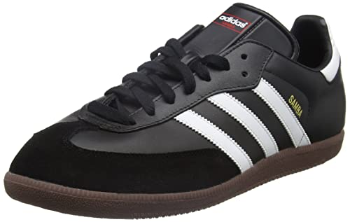 c7d522586ec7b5 adidas Men s Samba Leather Classic Trainers  Amazon.co.uk  Shoes   Bags
