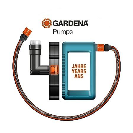 Bomba sumergible 9000 aquasensor Comfort de GARDENA: bomba de desagüe, ingeniería de sensores, caudal 9000 l/h, tecnología de bombeo duradera y segura, ...