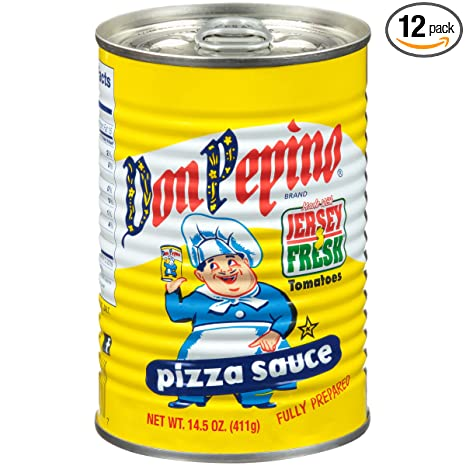 Don Pepino Pizza Sauce, 14.5 Ounce (Pack of 12)