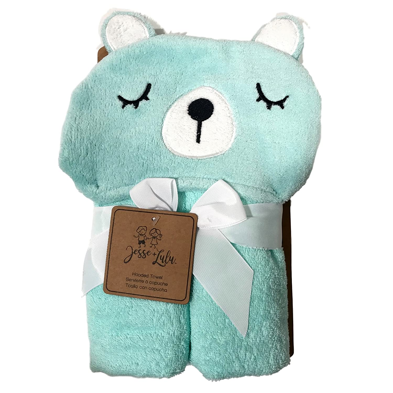 Amazon.com : Baby & Kids Hooded Towel Bear Zebra Panda Monkey Fox (Bear) : Baby
