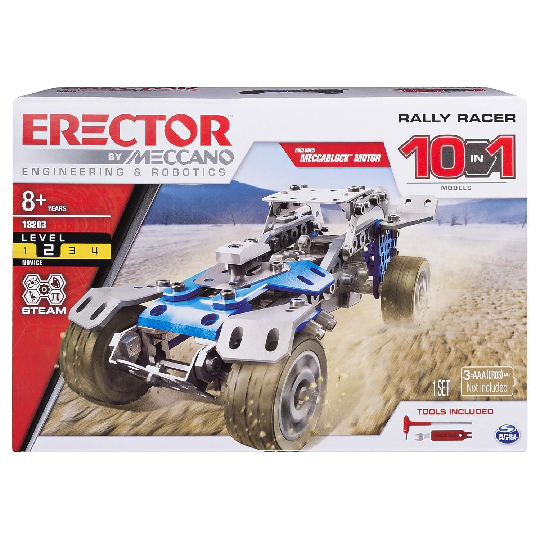 Meccano Rally Racer 10-in-1 Building Kit