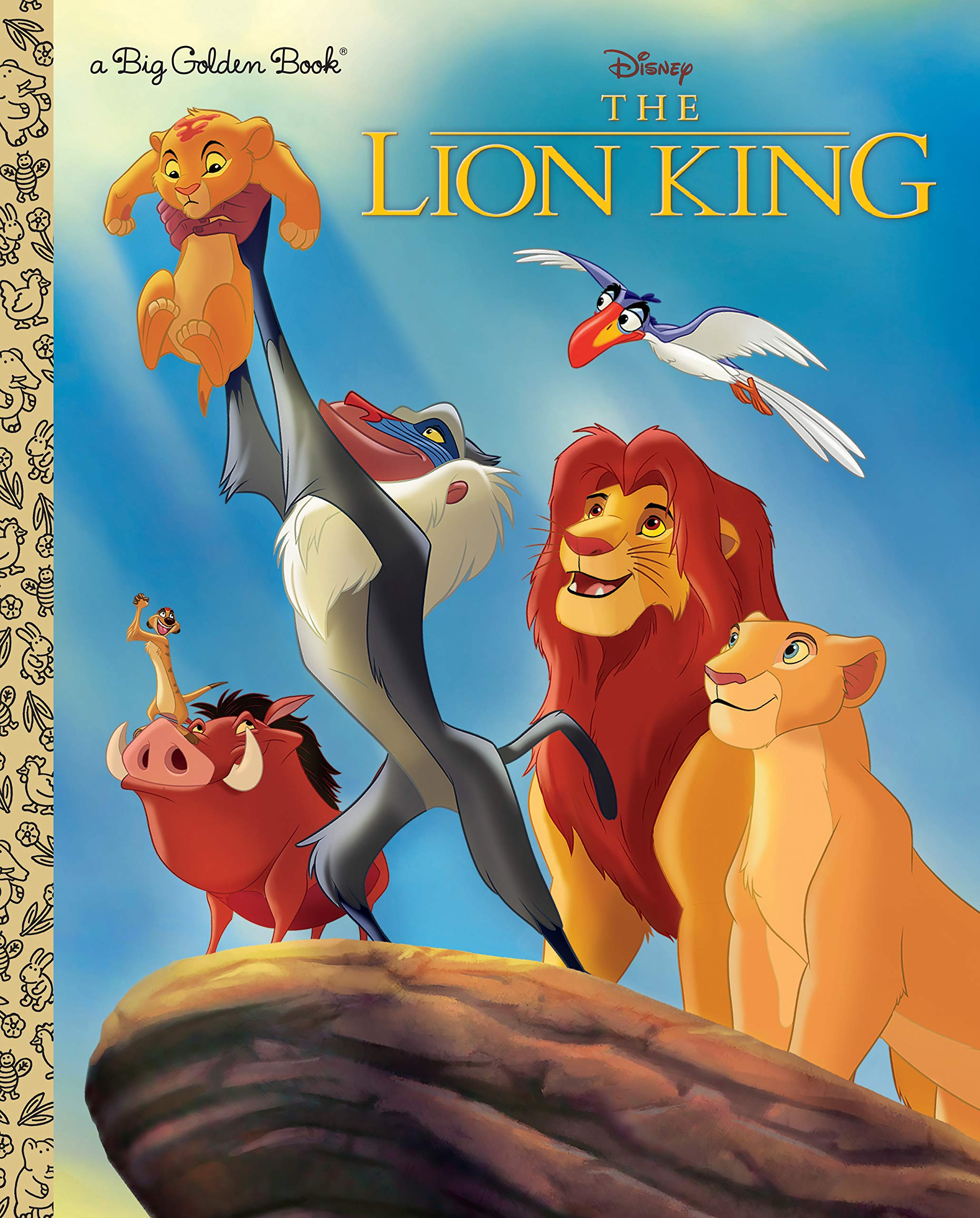 DISNEY LION KING BIG GOLDEN BOOK (Big Golden Books)