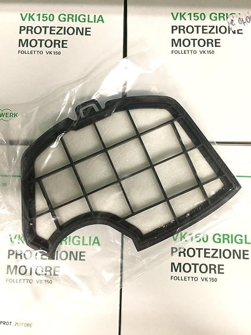 Motore Folletto Vk 150.Griglia Di Protezione Motore Originale Vorwerk Folletto Per Vk140 E
