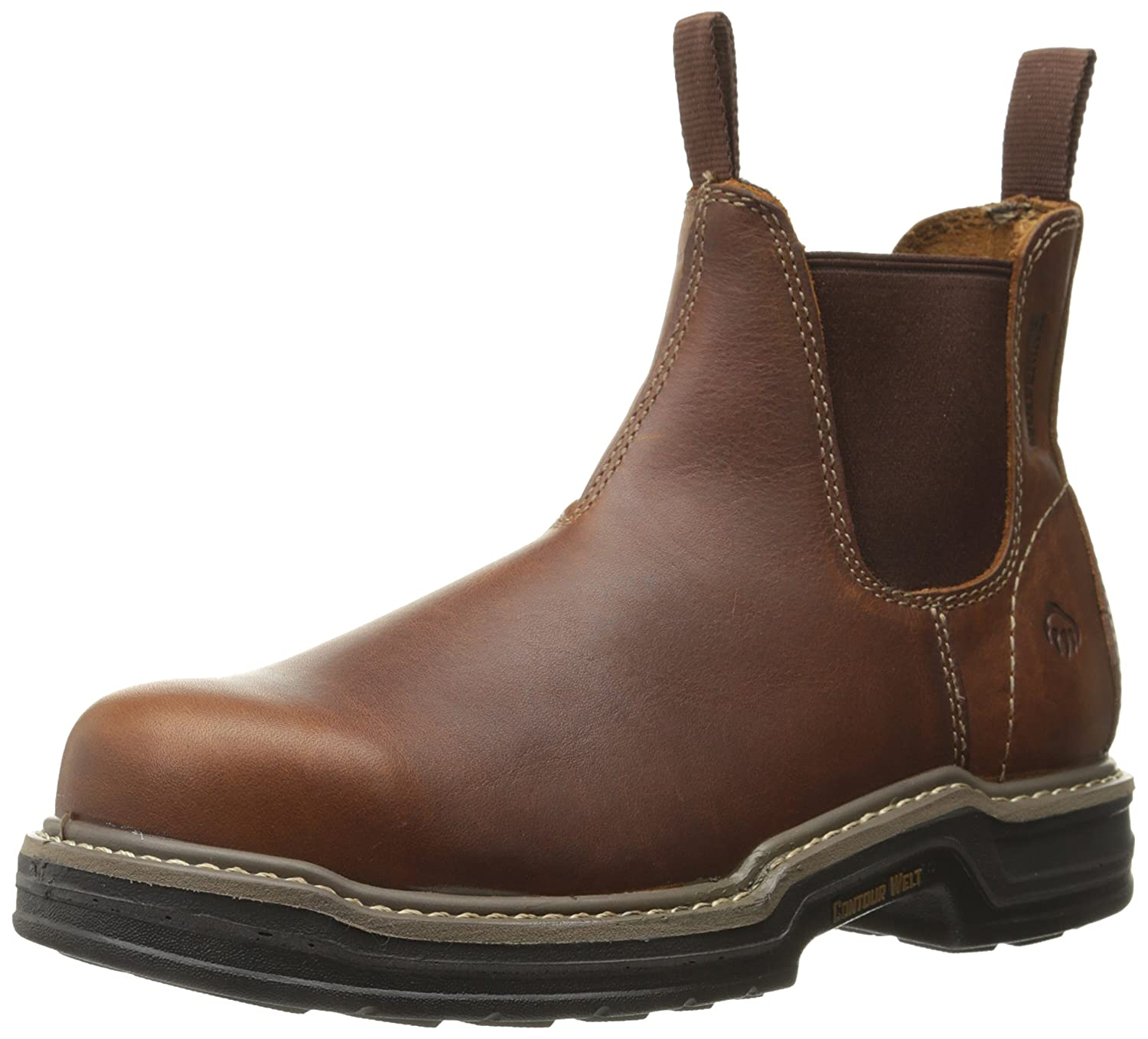 Amazon.com | Wolverine Men's Raider Romeo Contour Welt Steel Toe ...