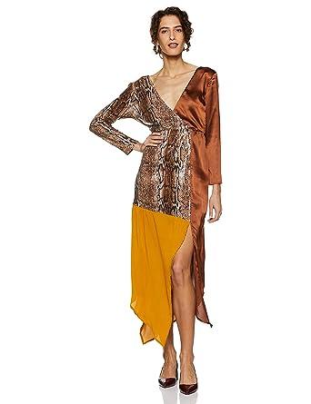 f38cff32e7e DODO   MOA Sequined wrap Dress  Amazon.in  Clothing   Accessories