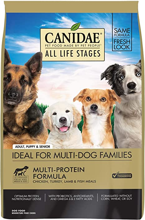 Amazon.com: Canidae Life Stages Alimento para perros enlatado para cachorros, adultos y mayores.: Mascotas