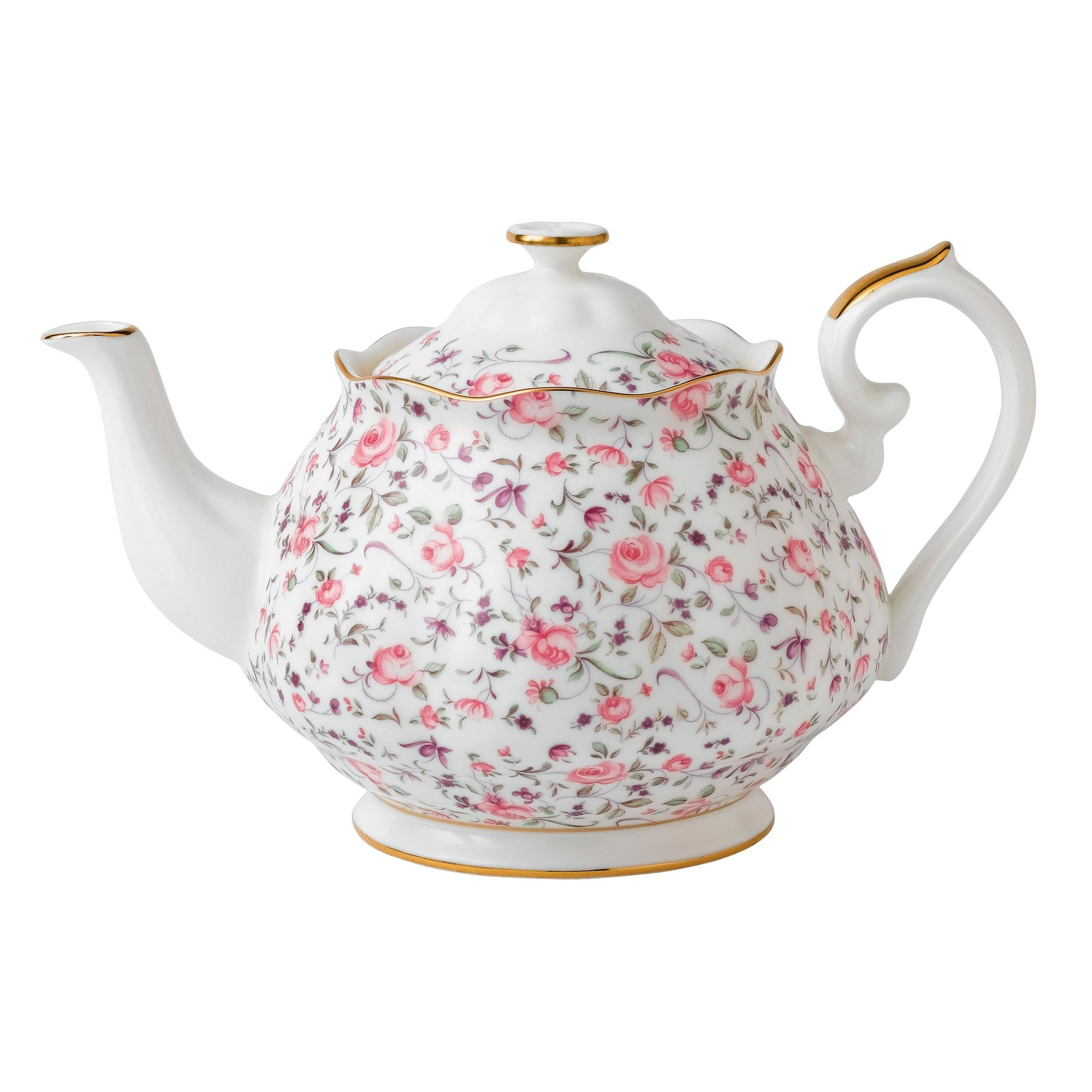 Royal Albert 8704025823 New Country Roses Rose Confetti Teaset, 3-Piece by Royal Albert (Image #2)