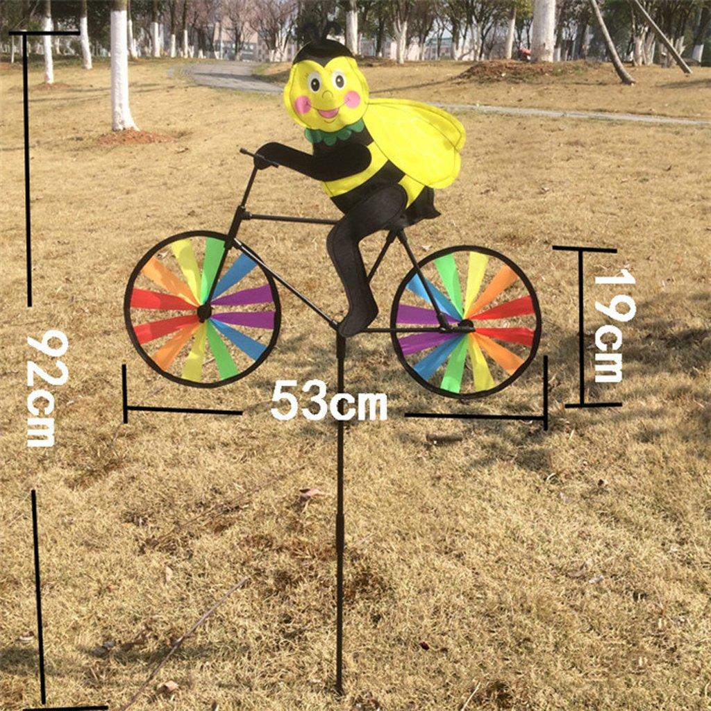 A Rainbow Windmills Wind Windsock Wheel Jard/ín Patio Patio Festival Decoraci/ón Juguete Al Aire Libre