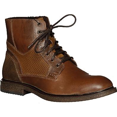 c070b43970e8 Versace 19V69 Men s Croco Boot Men Boots   Brown Size  9.5 UK ...