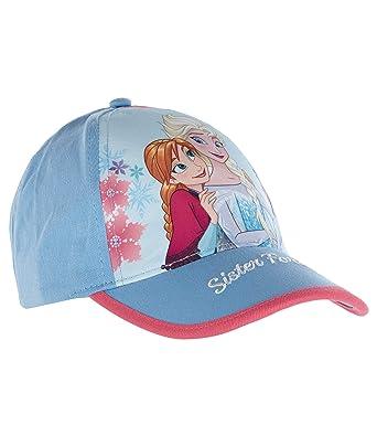 Disney El reino del hielo Gorra de béisbol para Chicas Azul 54 ...