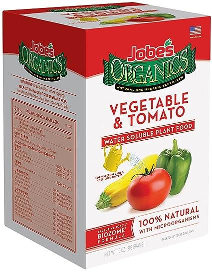 Amazoncom Jobes Organics Vegetable Tomato Fertilizer 312