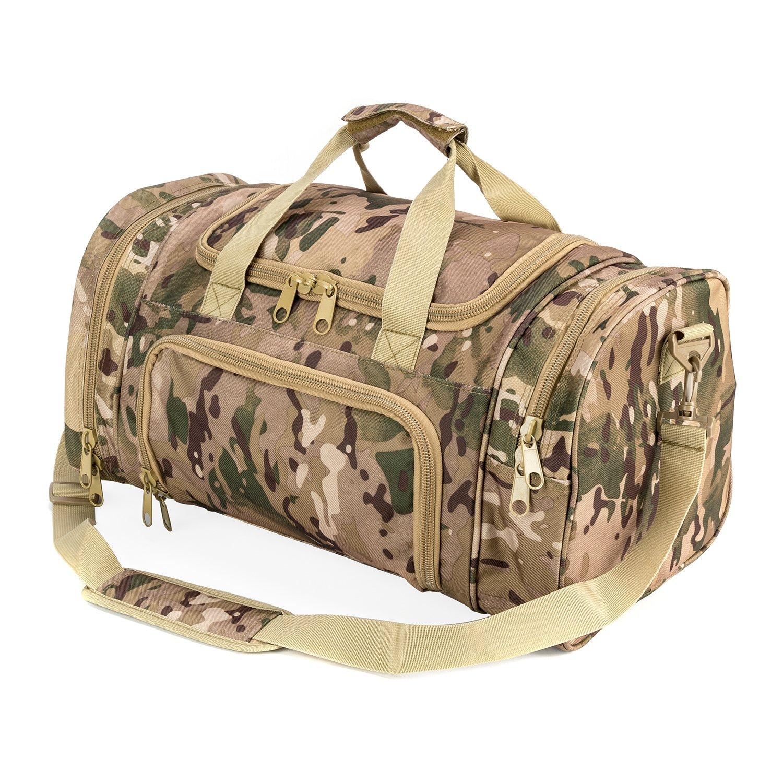 注文割引 wolfwarriorx Duffle Military Tactical Duffle wolfwarriorx Bag, LargeストレージバッグLuggage Bag, Duffle for旅行、ジム、ハワイアン、ハイキングトレッキング B078TJHTJP 迷彩 迷彩, ホラドムラ:73d01c4f --- ballyshannonshow.com