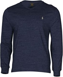 dd2f706f3 Polo Ralph Lauren Men's Long Sleeve Pony Logo T-Shirt - X-Large ...