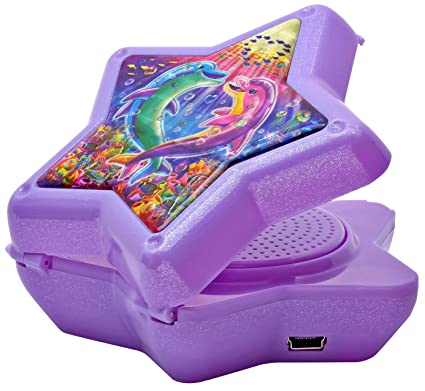 45b4aa0e8ef Image Unavailable. Image not available for. Color  Lisa Frank Compact Star  Speaker ...