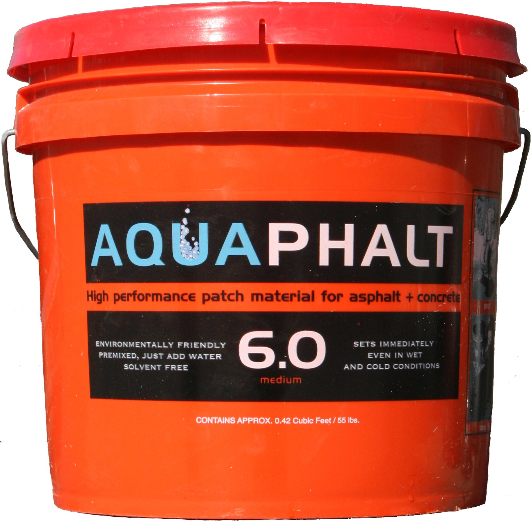 Aquaphalt 6.0 Permanent Repair, 3.5 gallon, Black