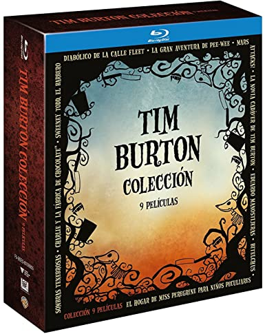 Pack Tim Burton 9 Titulos Blu-Ray [Blu-ray]: Amazon.es: Johnny ...