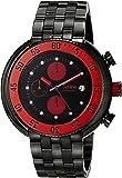 red line Men's RL-50038-BB-11-RDA Driver Analog Display Japanese Quartz Black Watch