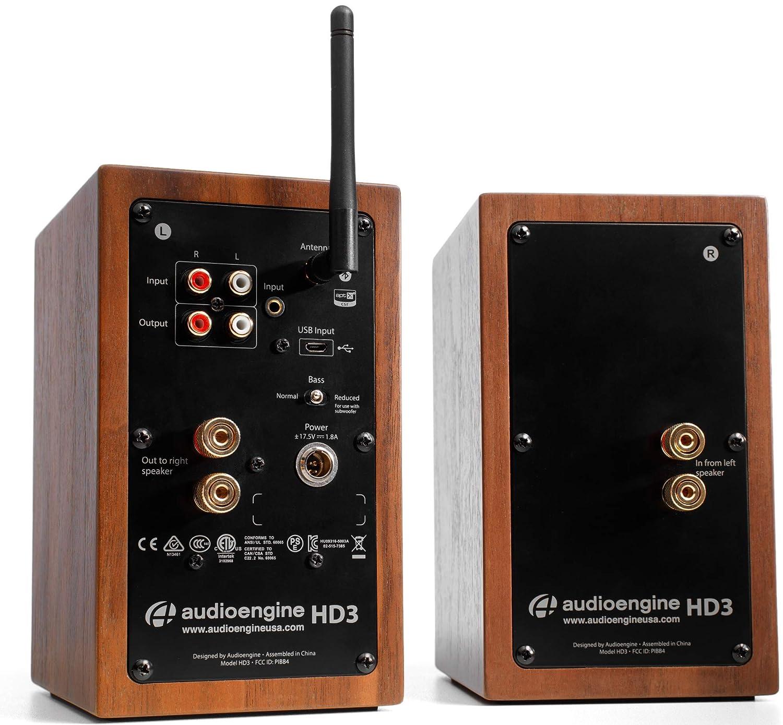 Audioengine Altavoces de Escritorio inal?mbricos Audioengine HD3 ...
