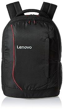 Lenovo Laptop Bag 15.6 inch backpack Black Red Laptop Backpacks