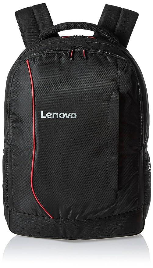 Unique Print Lenovo B3055 Canvas Backpack for 15.6 inch Laptop  Black  Laptop Backpacks