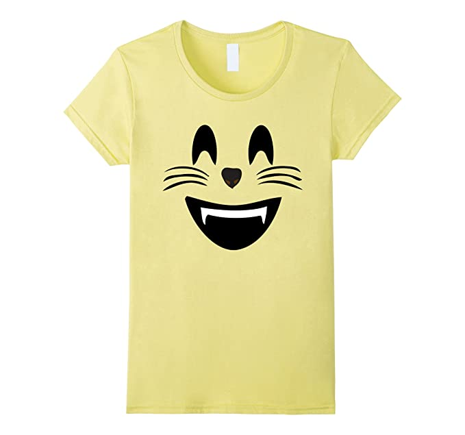 amazoncom emoji halloween costume smiling cat face mouth open emoji clothing - Space Ghost Halloween Costume