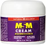 Natural Balance MSM Cream, 2 Ounce