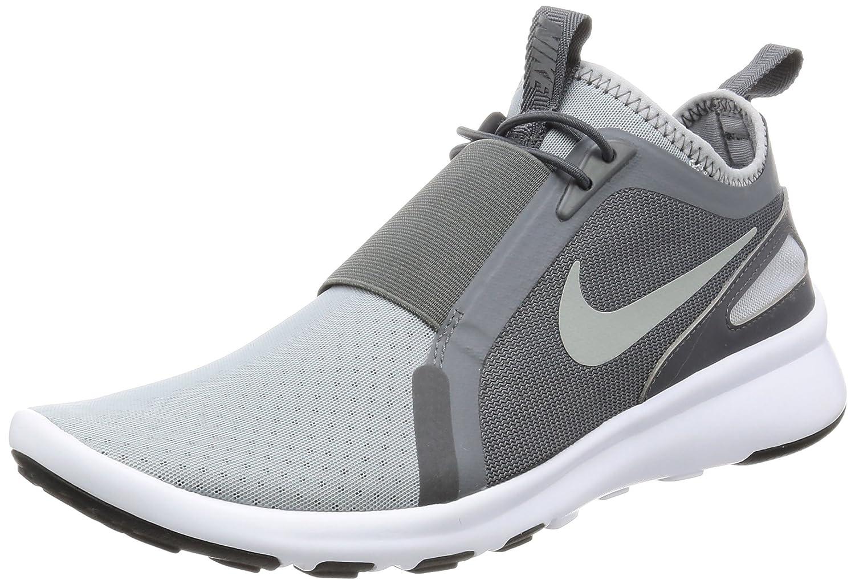 Nike Herren Current Slip on Trainer  41 EU|Grau (Wolf Grey/metallic Silver/dark Grey)