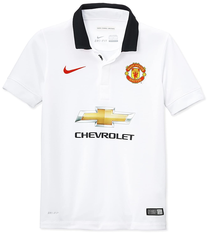Nike Kinder Heimtrikot Manchester United, kurzärmelig