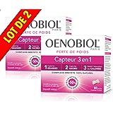 Oenobiol Capteur 3 en 1 PERTE DE POIDS - 1 MOIS DE TRAITEMENT - LOT de 2 x 60 Gélules